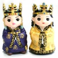 신라왕왕비 마블인형
