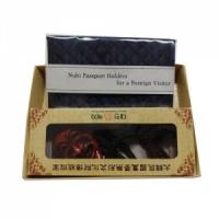누비여권지갑-양반탈목걸이세트