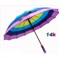 가로무지개자동우산